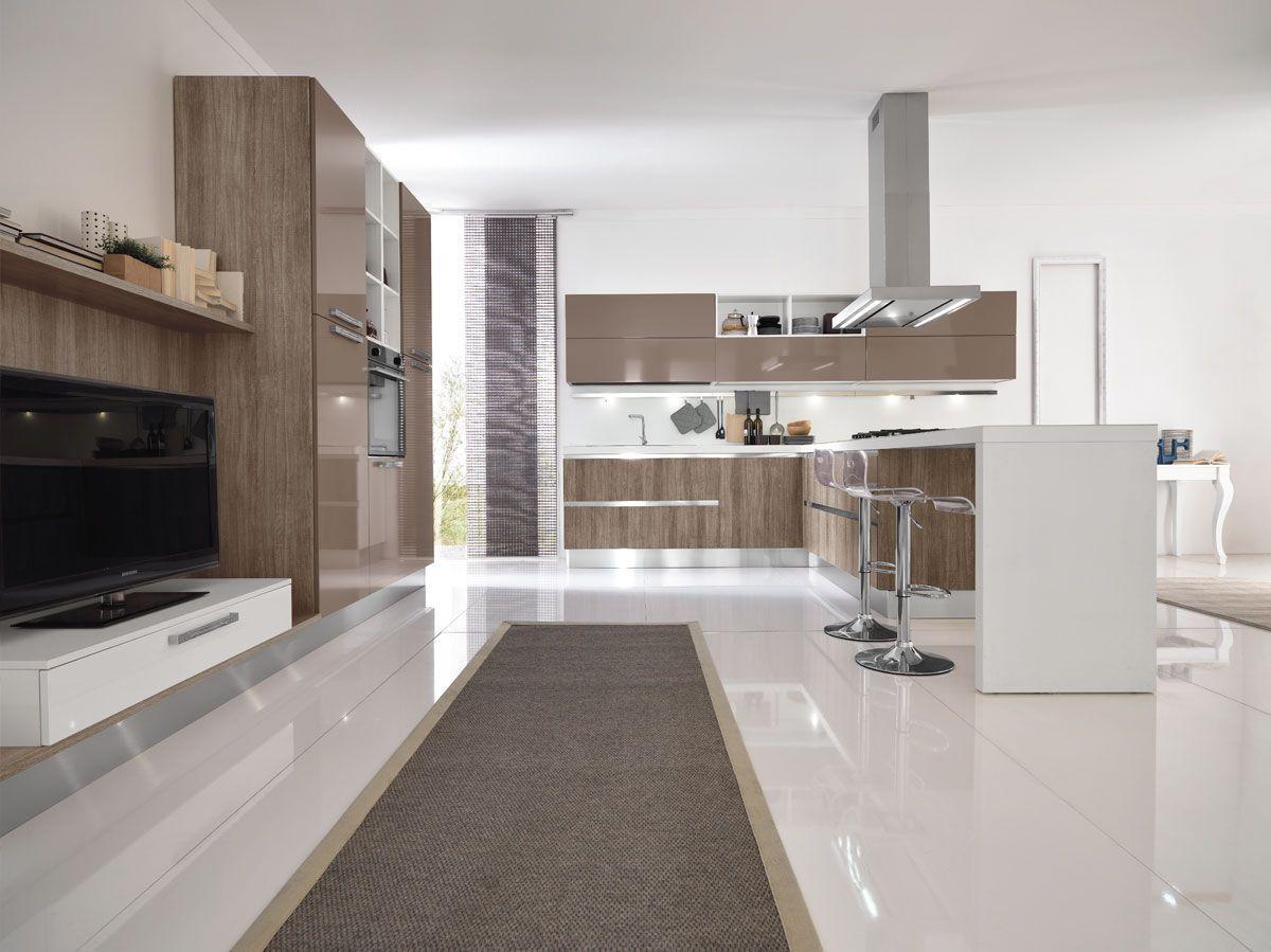 Mutfak kontras design for Mobilya cucine