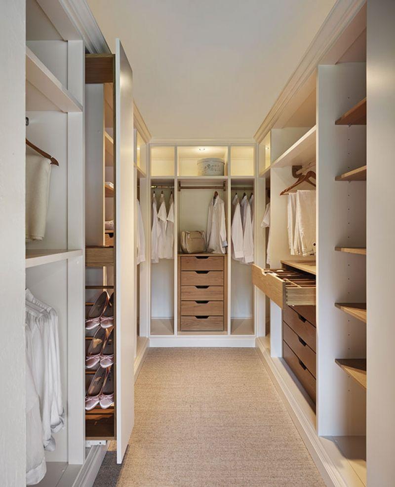 Гардеробная комната своими руками - фото примеров.